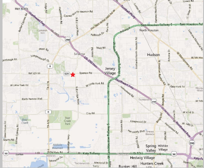 Map showing location of ATCO Business Park